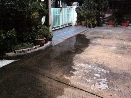 หมู่บ้านปาริชาต ปิ่นเกล้า กับน้ำท่วม 2554 (2/6)