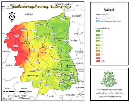 แผนที่น้ำท่วม 2554 (1/6)