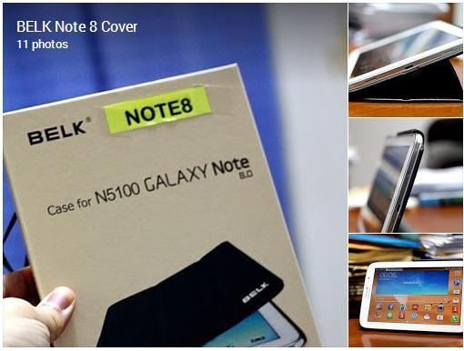 BELK's Note 8.0 Smart Cover