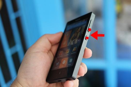 จับภาพหน้าจอบน Nokia X